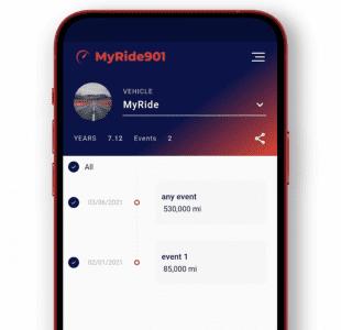 MyRide901 User Interface